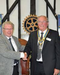 4 July 2012 - New Club President is inducted