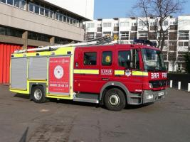 Meridian Rotary take a private tour around the East Grinstead fire station