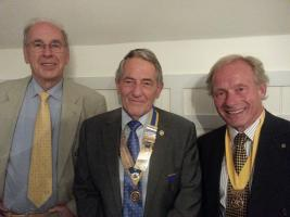 CHANGE OF PRESIDENCY AT CHRISTCHURCH ROTARY CLUB