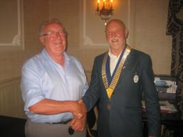 Prestwick  Rotary Club welcomes a new member