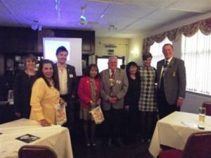 District Governor visit 2011