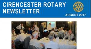 Cirencester Rotary Club Newsletter - August 2017