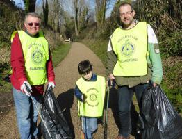 Clean up Blandford Campaign