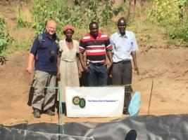 Fishponds Project for Mango Tree Trust 2015/17