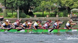 Nihao Racing Pandas enter <br/>the Kingston Rotary <BR/>Dragon Boat Challenge.