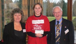 Donation to the Herts Air Ambulance
