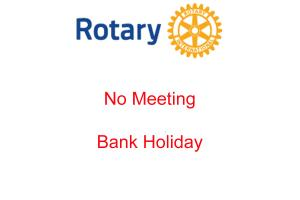 No Meeting - Bank Holiday