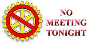 No Meeting Tonight