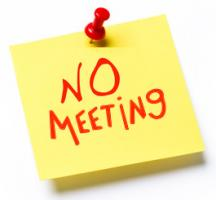 Easter Monday - no meeting