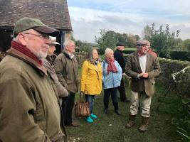 We enjoyed a social visit to Acton Scott working farm