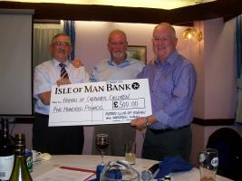 Rotary Club of Rushen & Western Mann donate £500 to the