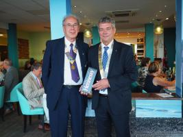COGNAC AND CHRISTCHURCH ROTARY CLUBS CELEBRATE 60 YEARS OF TWINNING.
