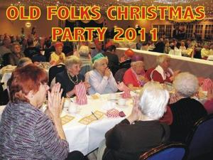 OLD FOLKS CHRISTMAS PARTY 12th DECEMBER 2011