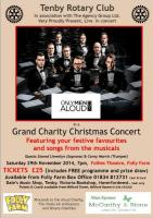 Only Men Aloud to star in Christmas Concert
