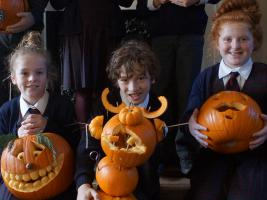Interact Run Pumpkin Carving Competition for Care Kenya