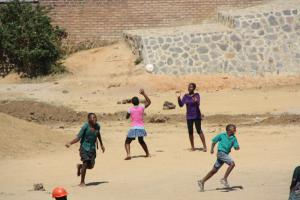 Creating a football pitch in Africa - The Krizevac Project