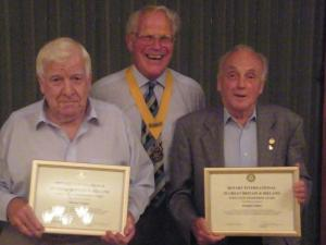 80 years service in March Rotary Club