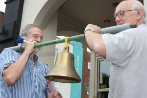 At 08.12 on 27 June almost every bell in land rang out for London 2012