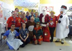 Christmas Day at Conquest Hospital