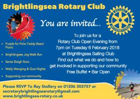 Club Open Evening at Brightlingsea Sailing Club