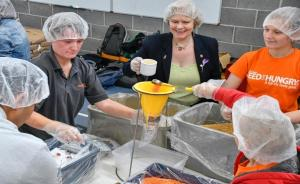 Background: Warrington Rotary Meal Pack 2016