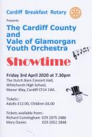 Cardiff County and V of G Youth Orchestra - POSTPONED