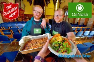 Providing Food & Friendship - OsNosh & The Salvation Army