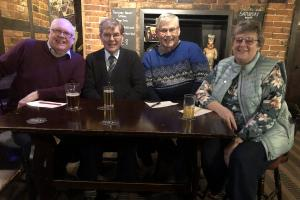 Rotary District 1180 Quiz Third Round v Wrexham Erddig @ 7:00pm, The Griffin Inn, Oswestry