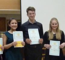 Feb 2015 Rotary Young Musician Club Competition 2015 - St Faiths School