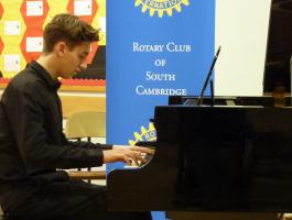 Mar 2014 Musical Evening -  with guests & partners