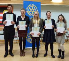 Feb 2014 Club Competition Rotary Young Musician 2014