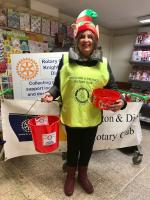Our first Christmas Collection at the Co-op in Knighton