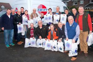 Christmas Parcels for the over 80's