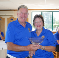 The Rotary Club of Rayleigh Mill enjoys glorious sunshine on their annual Paul Wellman Golf Competition
