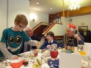Young Carers Christmas Lunch donated by Scores Hotel