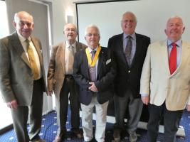 Lord Cobham Visits the Club