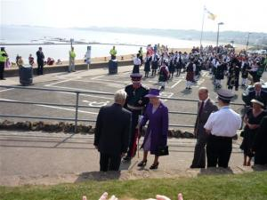 The Queen Arrives in North Berwick Thur 2 July 09