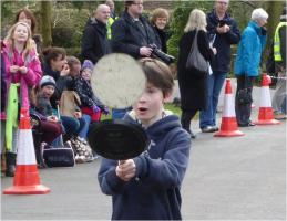 Pancake Race -  February 2014