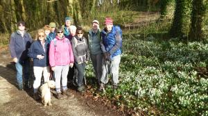 walk from Winterbourne Abbas to Stratton
