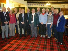 Annual competition for the Harry Jack Curling trophy between Edinburgh and Glasgow Rotary Clubs