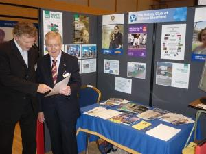 Rotary Club of Bishop's Stortford at Bishop's Stortford Means Business Exhibition