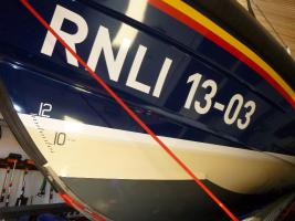 Visit to Exmouth Lifeboat station with fish & chip supper July 2014
