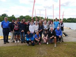 Princes Risborough School Rotary Interact Club spend a day sailing at Bury Lakes Young Mariners July 2017