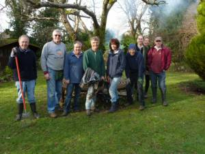 Gardening at Pusey House