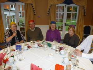 FREE WHEELERS CHRISTMAS DINNER 2012
