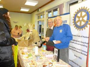 ROTARY at HASLEWEY XMAS FAIR DECEMBER 2012