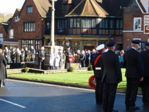 Haslemere Rememberance Day 2015