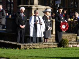 Town Remembrance Parade Nov.2013