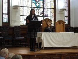 Youth Speaks Regional Final in Pollockshields Burgh Hall on Sunday 12th March