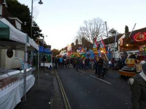Haslemere Town Christmas Fair 2014